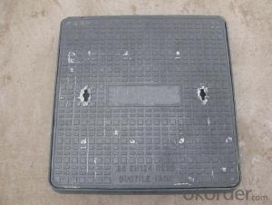 Manhole Cover Ductile Iron C250 Square on Sale