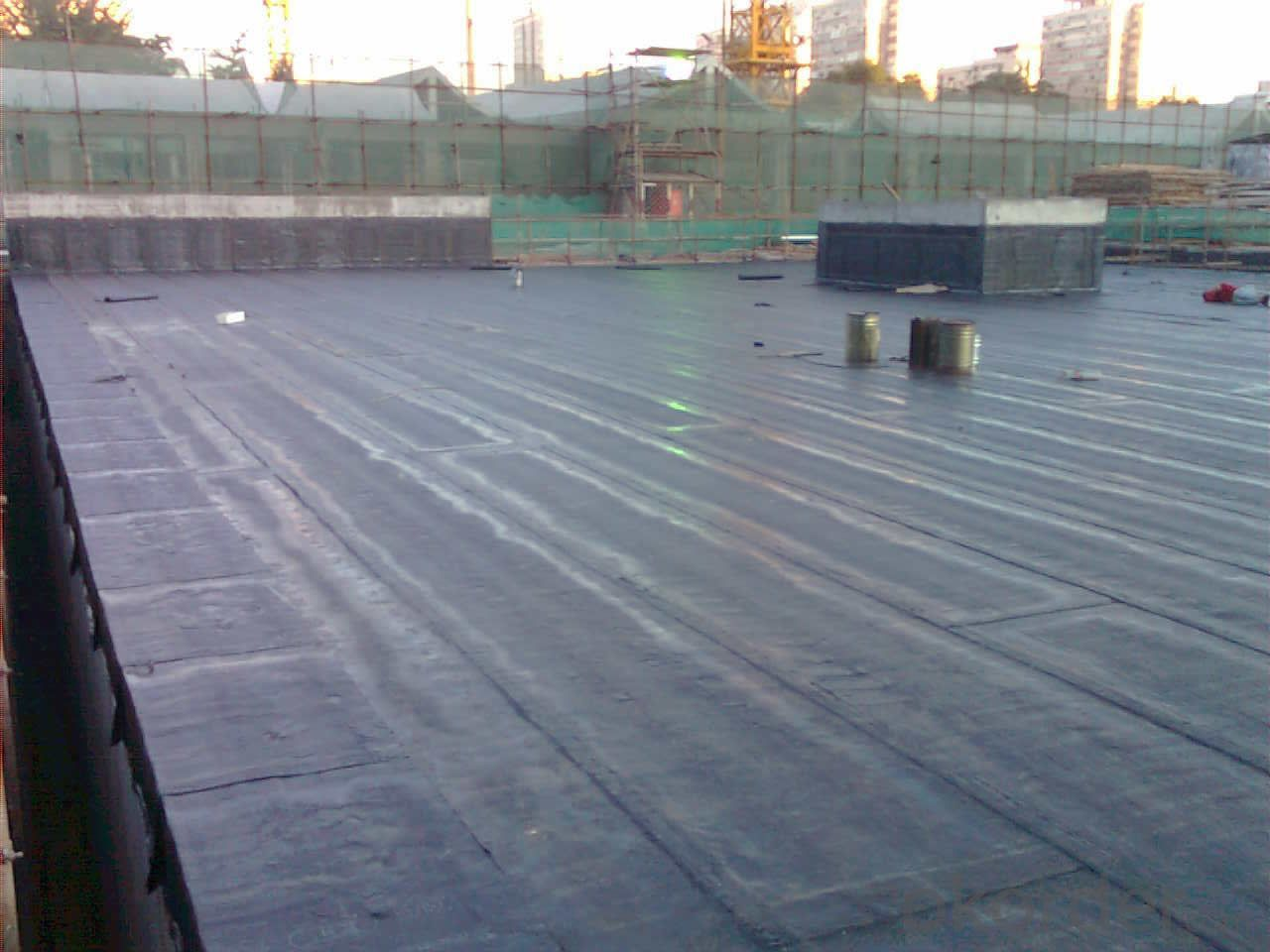 EPDM Coiled Rubber Waterproof Membrane with 2.0mm Thickness