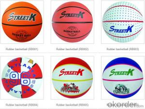Printed Custom Logo PU Leather Basketball