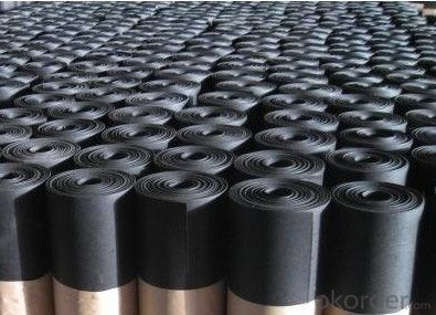 EPDM Coiled Rubber Waterproof Membrane with 1.1mm Thickness