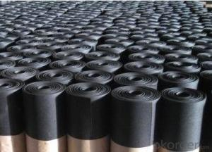 EPDM Coiled Rubber Waterproof Membrane with 0.8mm Thickness