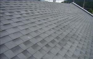 Synthetic Resin Roof Tile Red Asphalt Roof Shingles