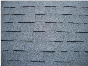 Durable Bent Interlocking Asphalt Roofing Tiles