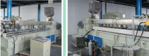 CMAX Double Steps TypePP /PE Thin Film & PP Woven Bag Recycling Pelletizing Machine