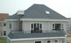 Synthetic Resin Black Sand Coated Roof Tile