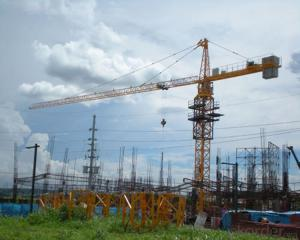 Tower Crane with 50m Height Jib Length 60m