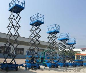 Hydraulic Mobile Scaffolding Platform And Scaffolding System Scissor Lift from CHIAN CNBM !!!