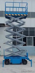 Scaffolding System Scissor Lift CHIAN !!!