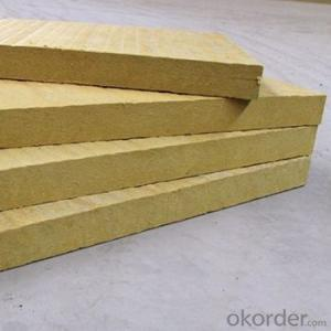 Fireproof Rockwool Insulation 50mm Rock Wool Board