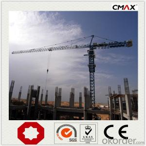 Tower Crane 10 Ton TC6016 QTZ100 in China