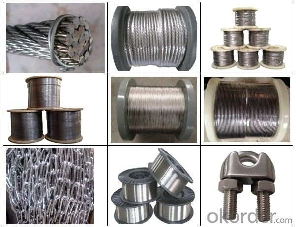 Wire Galvanized Carbob Steel Wire for ACSR