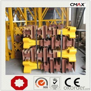 Tower Crane 10 Ton TC6016 QTZ100 in China
