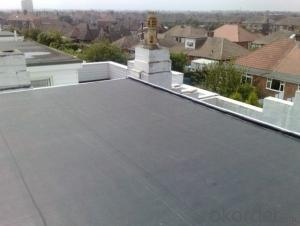 EPDM Coiled Rubber Waterproof Membrane for Roof Project