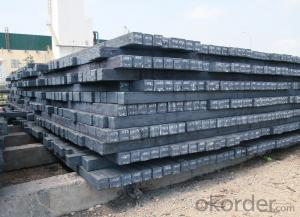 Q235/3SP 160MM Blast Furnace Hot Rolled Steel Billet