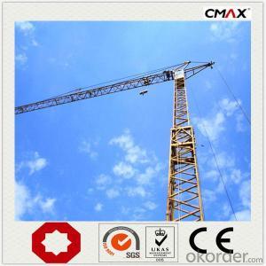 Tower Crane 8 Ton Max Capacity China Factory
