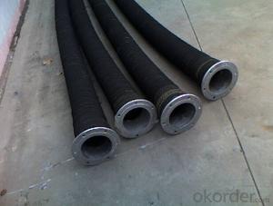 EPDM lining fire hose/EN694 list Black PVC fire hose