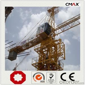 Tower Crane TC7021 Max Lifting Capacity 12Ton