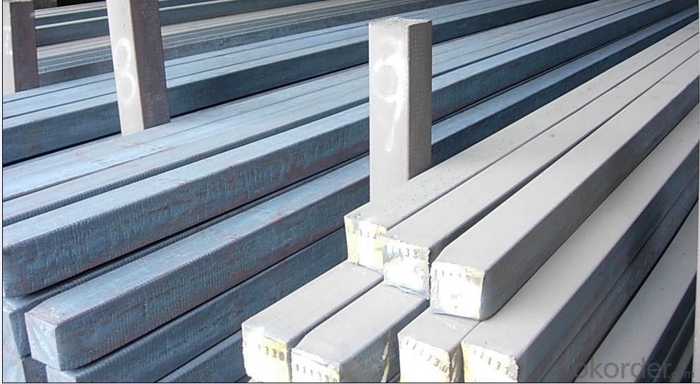 Q235/3SP 120MM Blast Furnace Hot Rolled Steel Billet