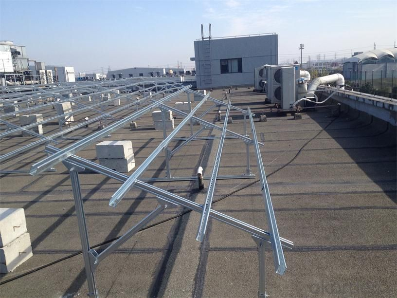 complete anodized aluminium solar bracket profile