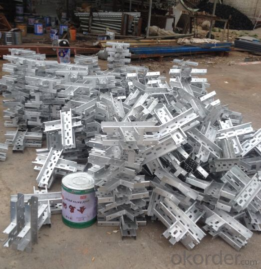 Galvanized Steel Beam Formwork for Long Time Using