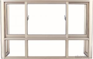 Modern house design windows aluminum casement windows with AS2047 & AS/NZS2208