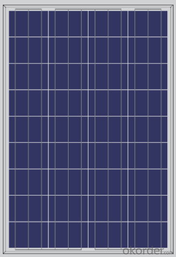 Poly 110W Solar Panels from China  Competitive Price