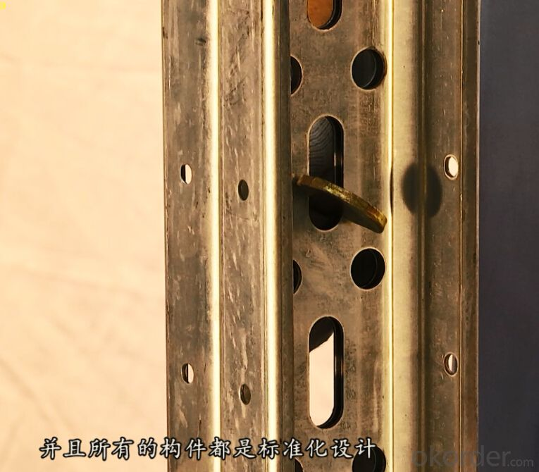 Easy Handle Steel Beam Formwork with High Efficiency