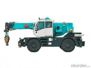 Cmax RT55 Rough Terrain Wheel Crane Sell on OKorder