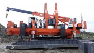 ZYC series ZYC500B multi-functional Hydraulic Static Pile Driver