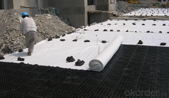 PET Filament Polyester Geotextile Used for Lake