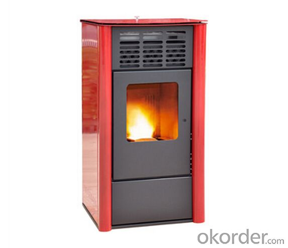 Wood Pellet Stove 13kw Free Standing, Easy Installation