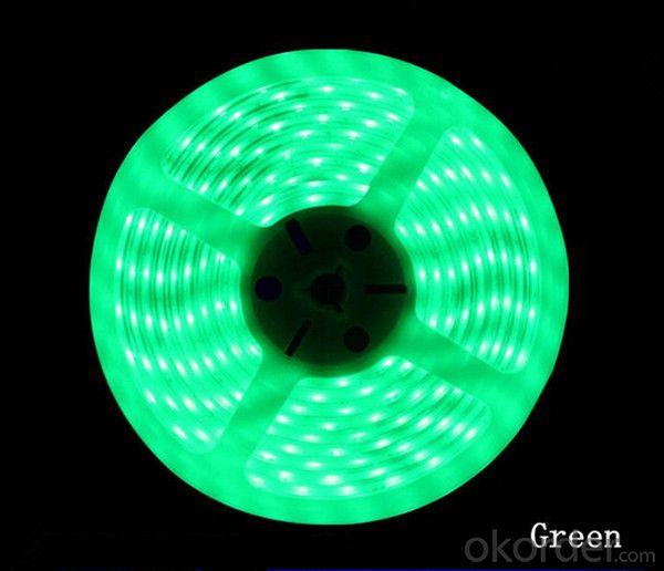LED RGB Flexible Strip Light with 3014 SMD LED, R/G/B/Y/W/RGB Option