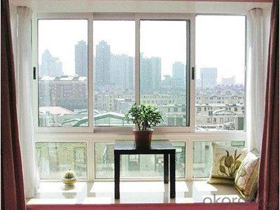 Modern house design windows aluminum casement windows with AS2047 & AS/NZS2208