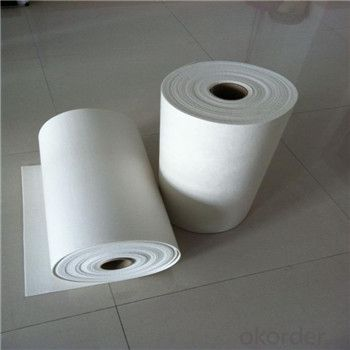 Ceramic Fiber Paper 1260 High Pure for Heating Insulation