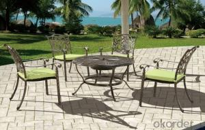 Aluminium Garden Sets Model CMAX-T08(C09)