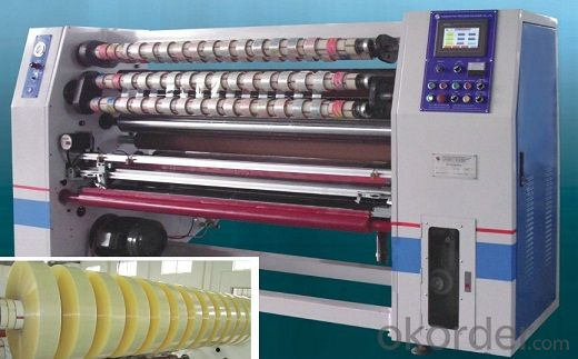 Slitting Machine Automatical High Speed Efficient