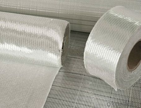 Non Filament Crimp Fiberglass Multiaxial Warp-Knitted Fabric