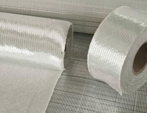 Non Filament Crimp Fiberglass Multiaxial Warp-Knitted Fabric