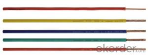 Single Core PVC Insulated Cable 450 /750 V