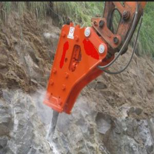 Excavator Mounted Hydraulic Breaker Chisel for Drilling