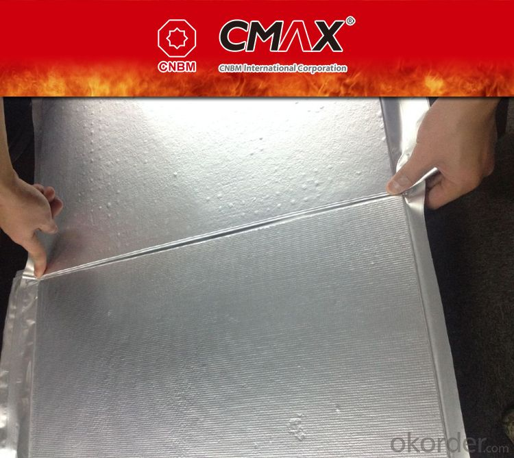 Nanometer Micropore Insulating Board for Steel
