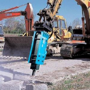 Excavator Mounted Hydraulic Breaker Demolition And Mining