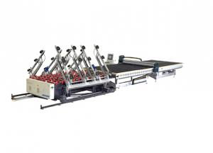 YR-12533 Full Automatic glass loading machine