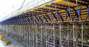 Automatic Climbing Formwork In Construction Building