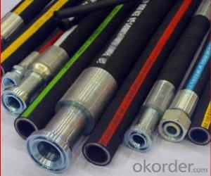 Hydraulic Rubber Hoses for Hydraulic Fluids(SAE 100 R1AT 3/4)