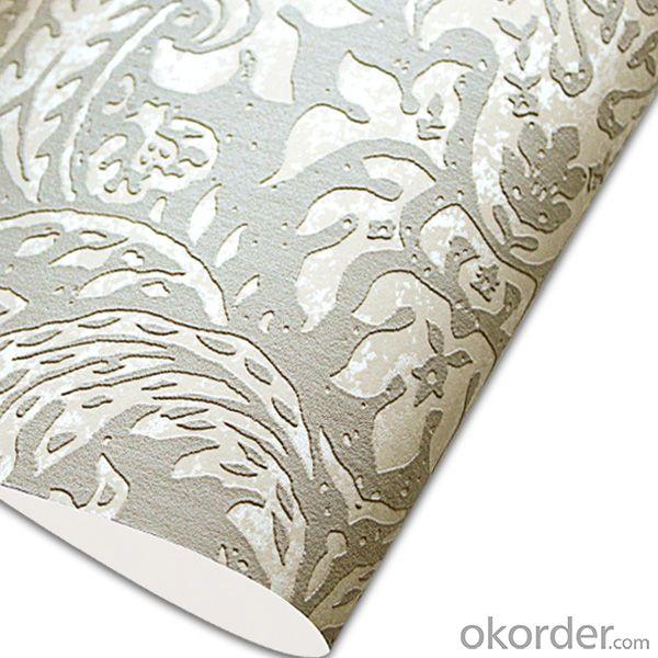 Glass Bead Wallpaper Hot Sale Good Quality Blue Wallpaper for KTV