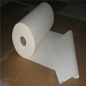 Ceramic Fiber Paper White Heat Resistant Paper for Industry