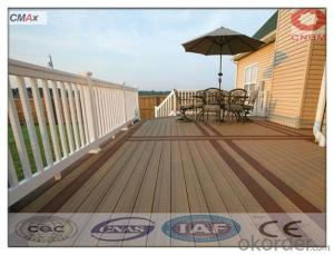 New Design Wood Plastic Composite WPC Flooring with Fluorescence
