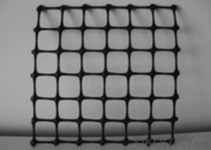 Polypropylene Plastic Biaxial Geogrids with CE certificate for Road construction