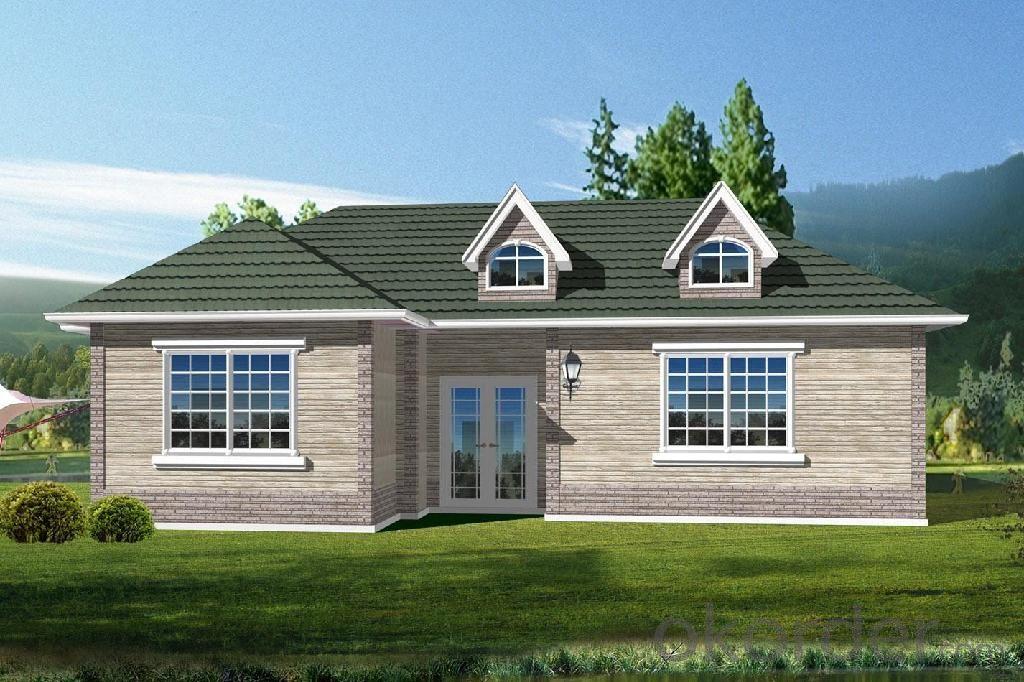 Villa of Light Steel Structure of Environmental Benefit